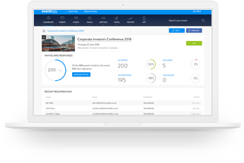 Manage Events Platform